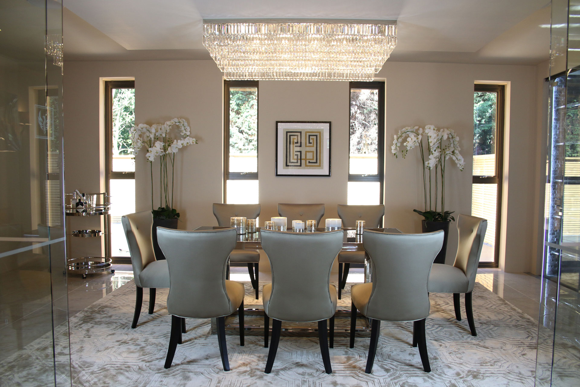 Dining Room At Fairmont By Guy Phoenix