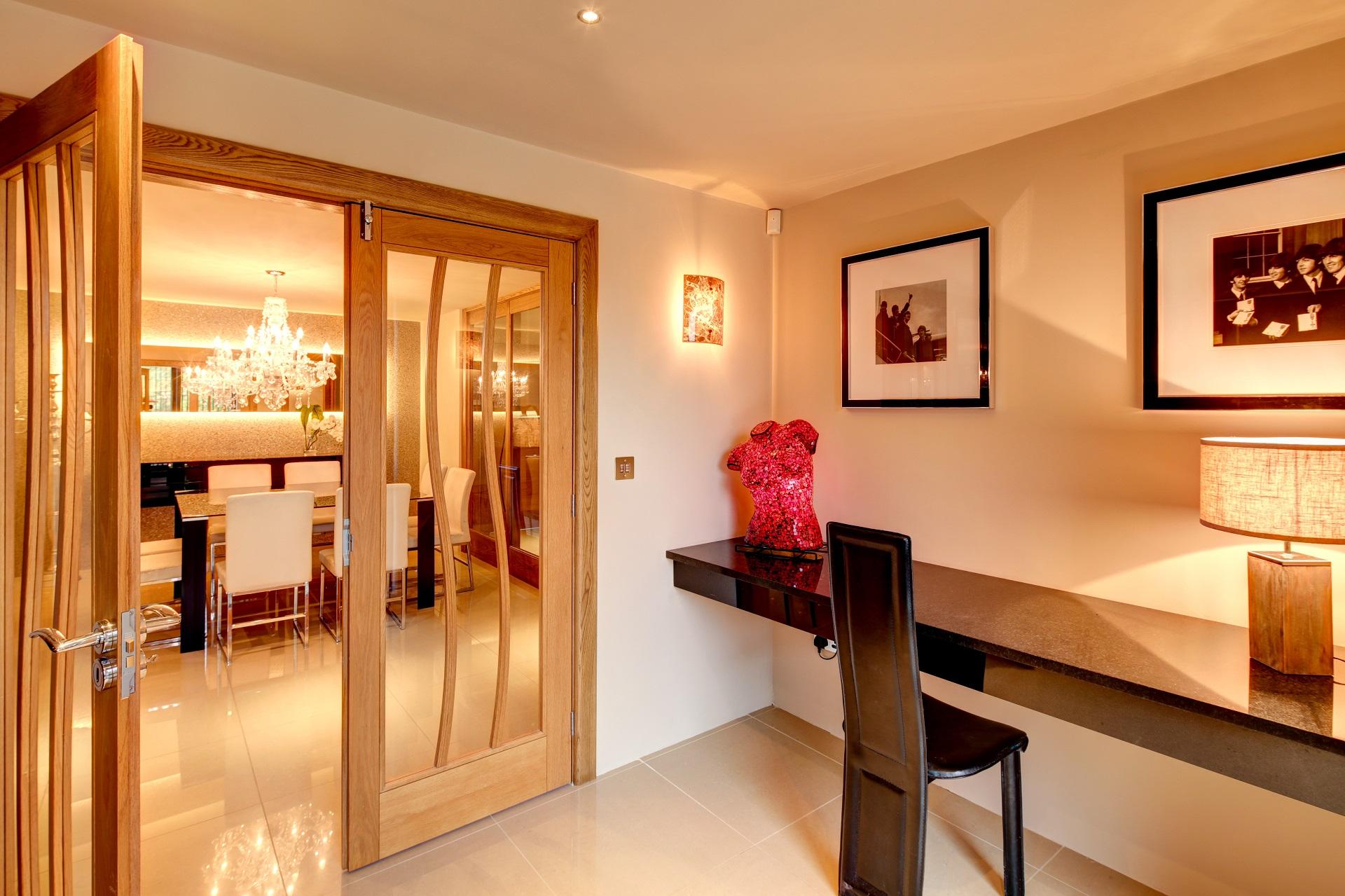 fernhill nottingham, designer desk, doors, dining table