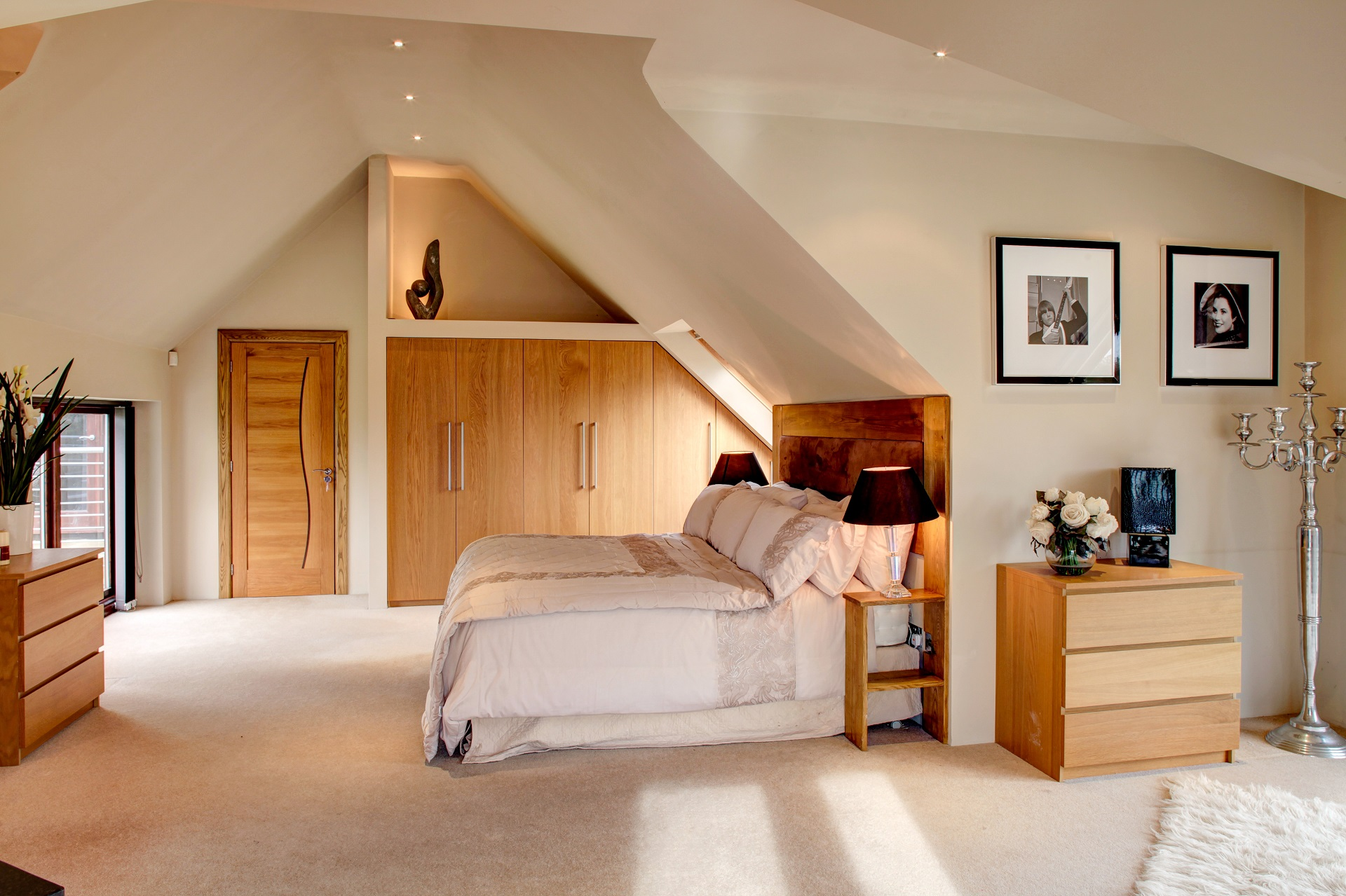 designer bedroom, interior design, nottingham, fern hill