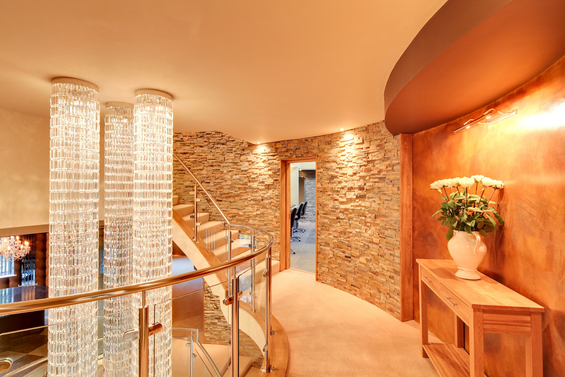 Luxury Interior design at hall view by Guy Phoenix.