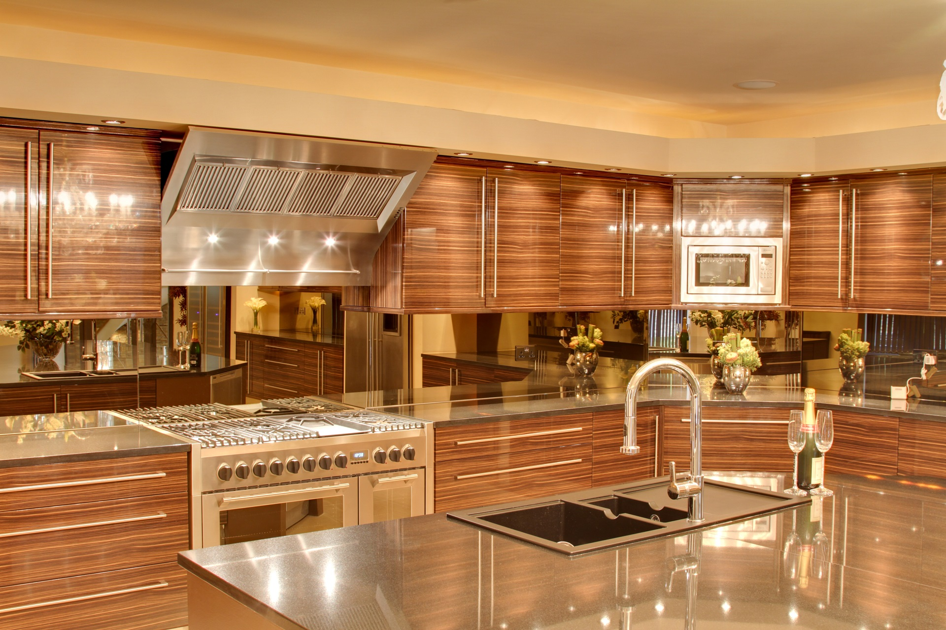 Hall drive luxury kitchen by Guy Phoenix