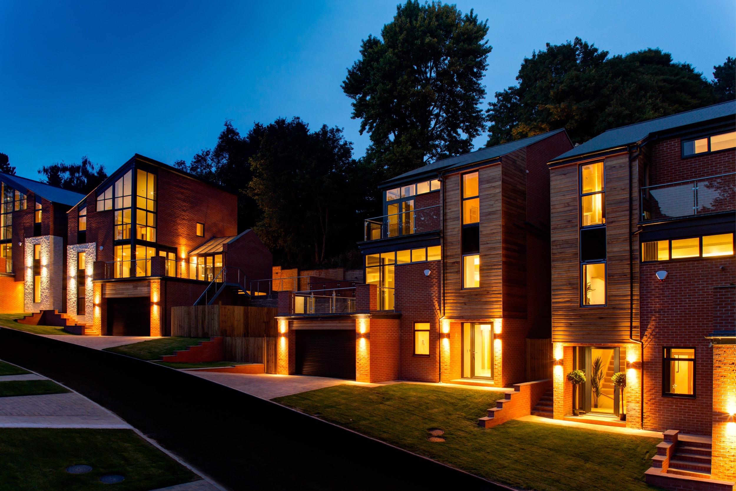 The Crescent at Alexandra Park, luxury homes from bespoke home developer, Guy Phoenix