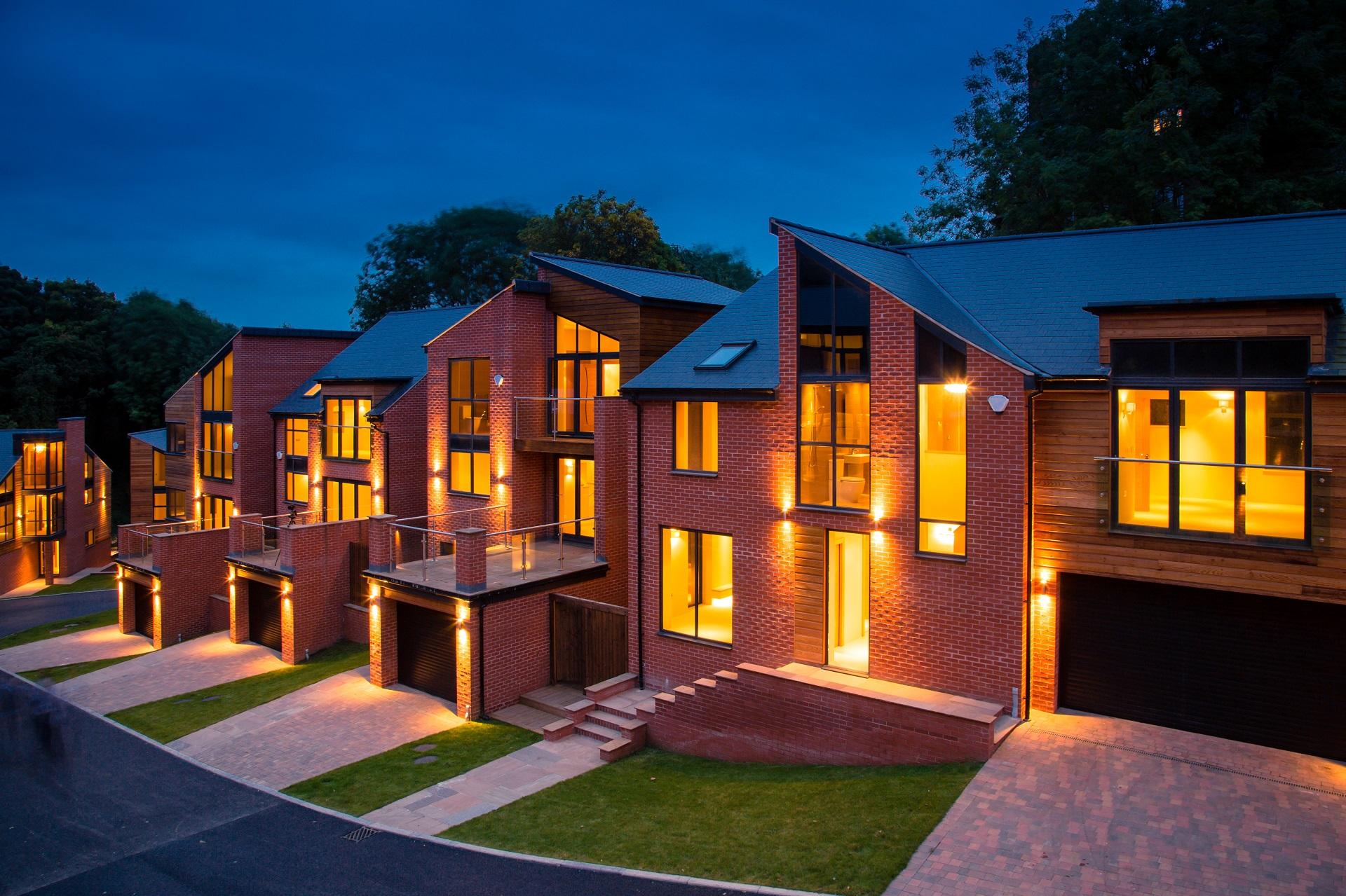 The Crescent, Alexander Park, Nottingham, Luxury housing development, executive homes, Nottingham