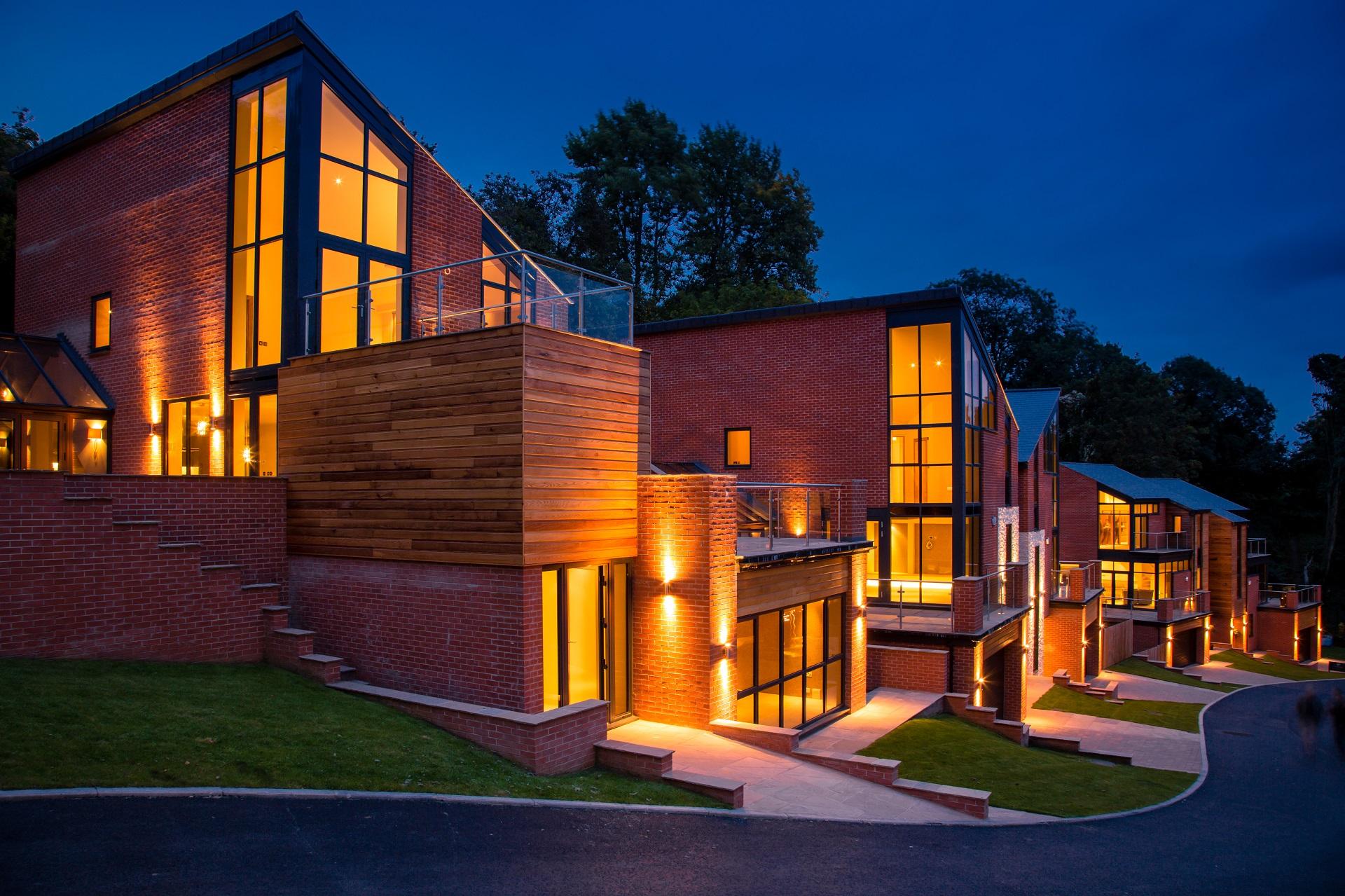 Alexander Park, The Crescent, Nottingham, Executive designer home development
