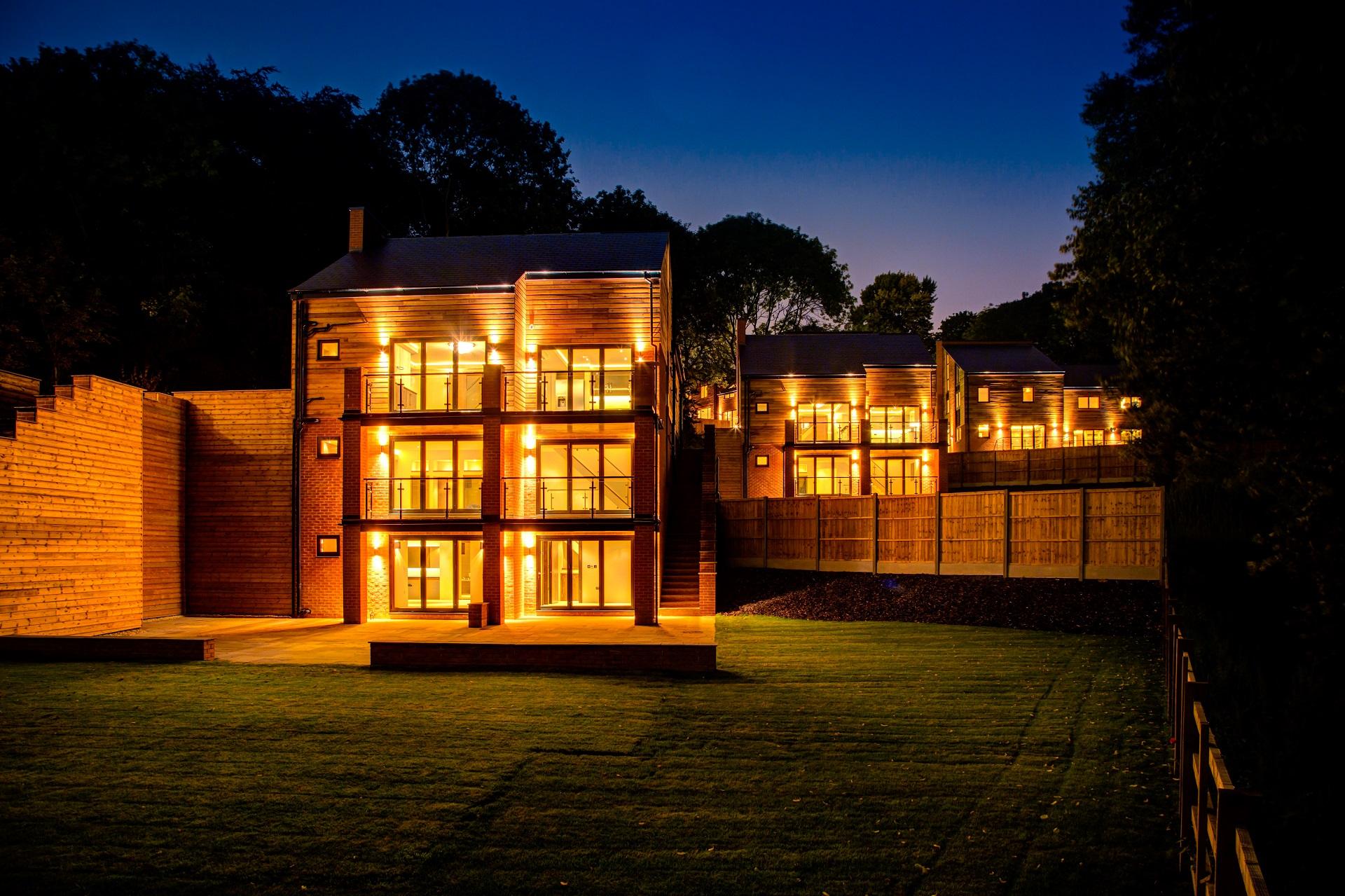 Luxury executive housing development, the crescent, nottingham