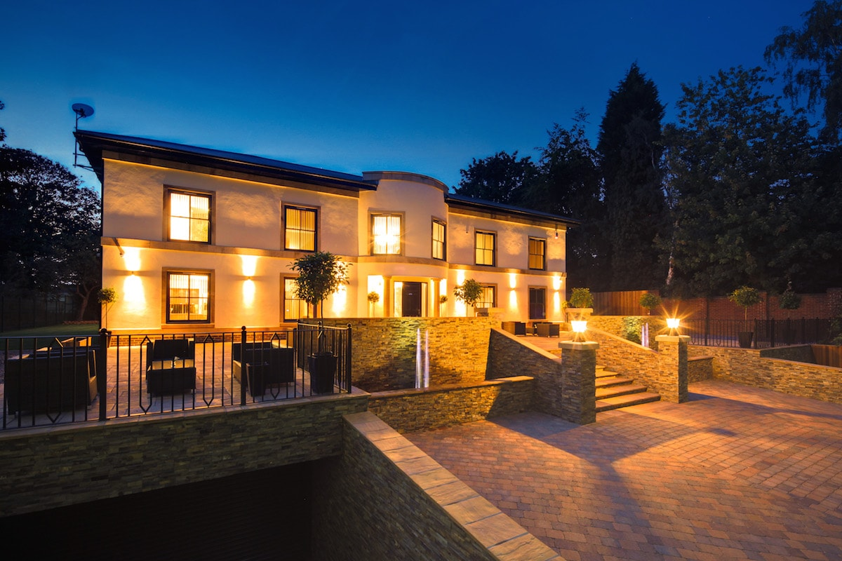 Luxury self build or new build house how to build your for Luxury new build homes