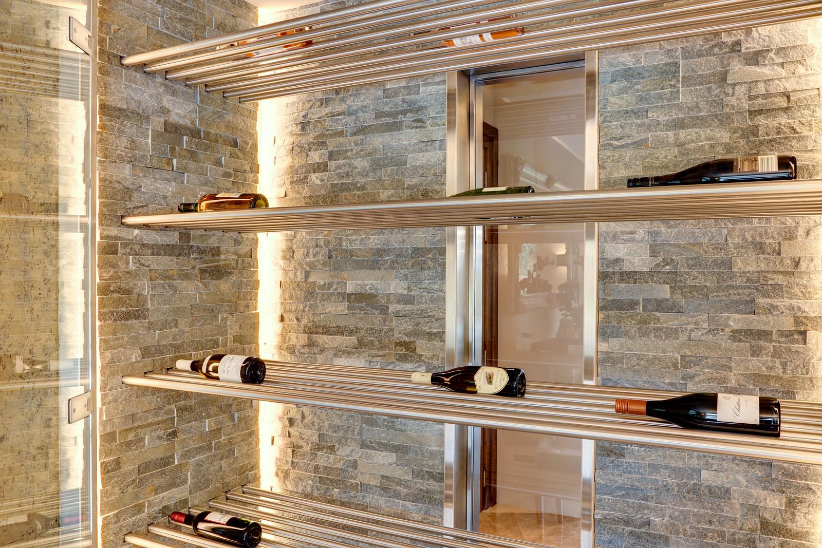 walk in wine store chiller, designer home, Nottingham