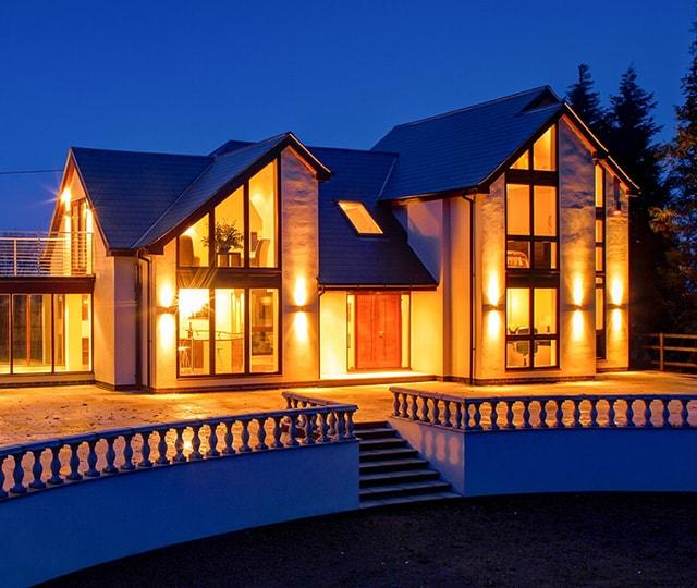 Bespoke, custom property. Luxury residence in Nottinghamshire
