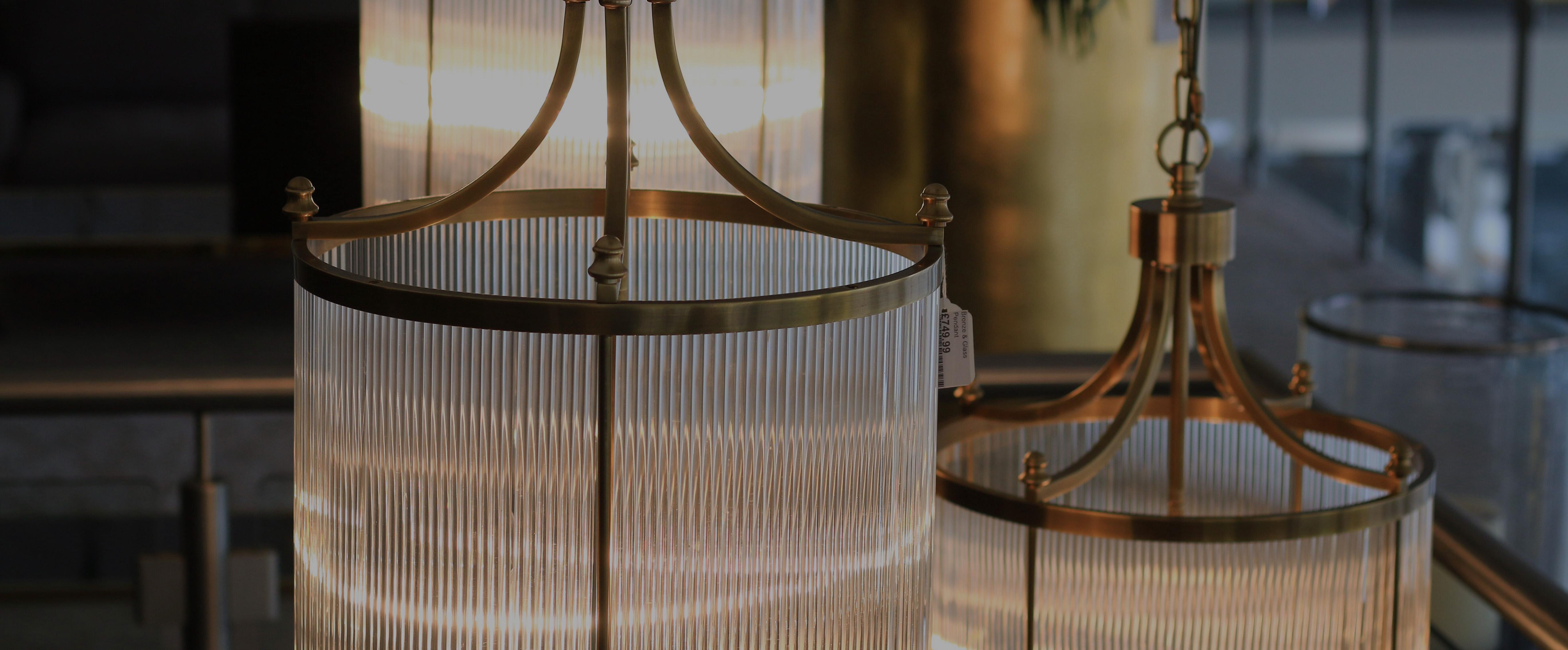 Lighting design | 3 hanging lanterns