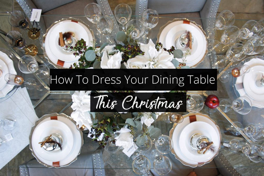 how to dress your table