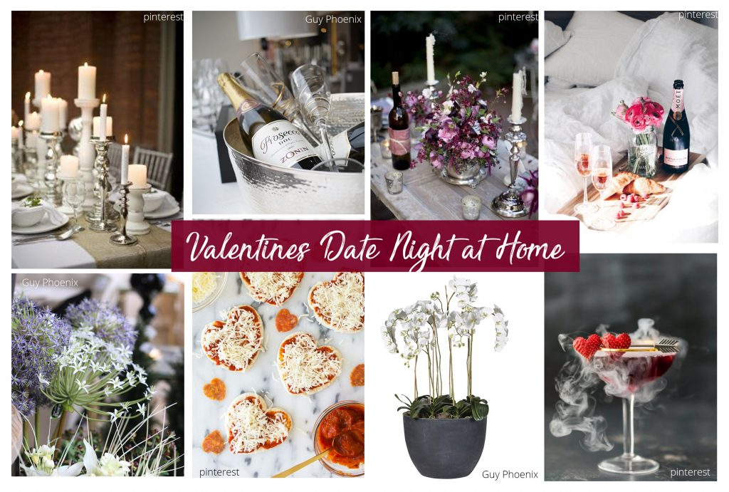 How To Create The Perfect Valentine's Date at Home