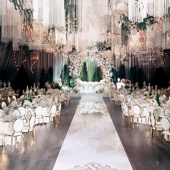 beautiful luxury wedding design