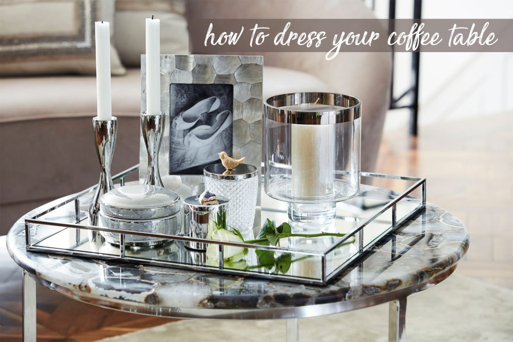 How To Dress Your Coffee Table