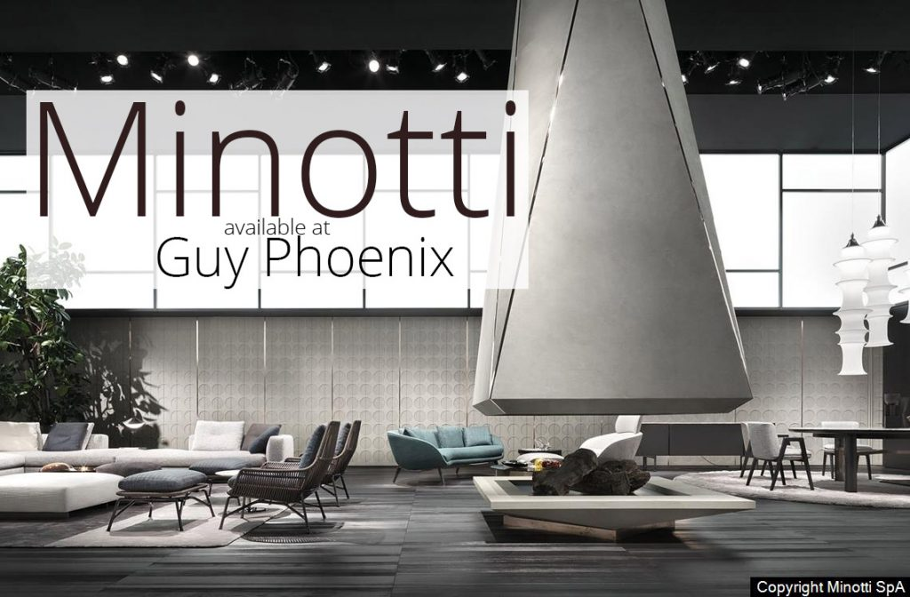 Minotti Furniture -Available at Guy Phoenix