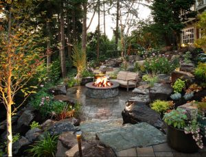 fire pit, Too Cold To Stay Indoors…